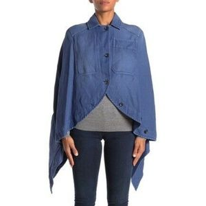 NWT Burberry Woven Cape SIZE US4 $1995